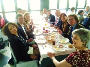 Almuerzo en Rana Verde