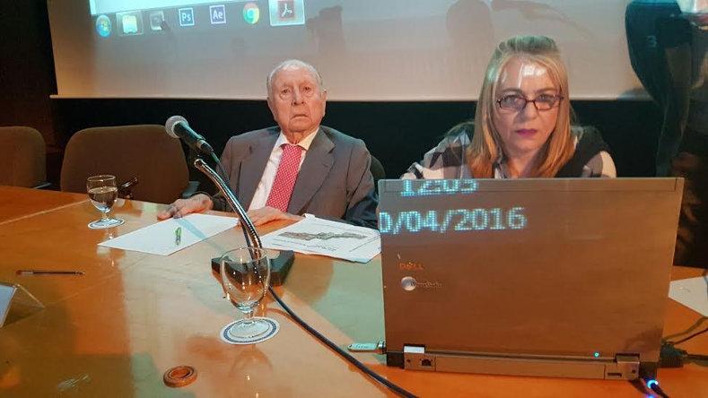 De izq. a der.: D. Antonio Lamela y Dña. Nuria Ambrona (foto: Laura Catalán).
