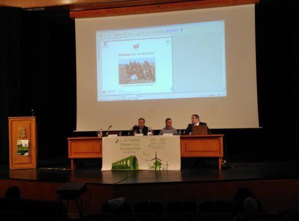 De izq. a der.: D. Francisco Javier Rubio Regueiro, D. Youssef Abu Alhassan y D. Jorge Pablo Díaz Velilla.