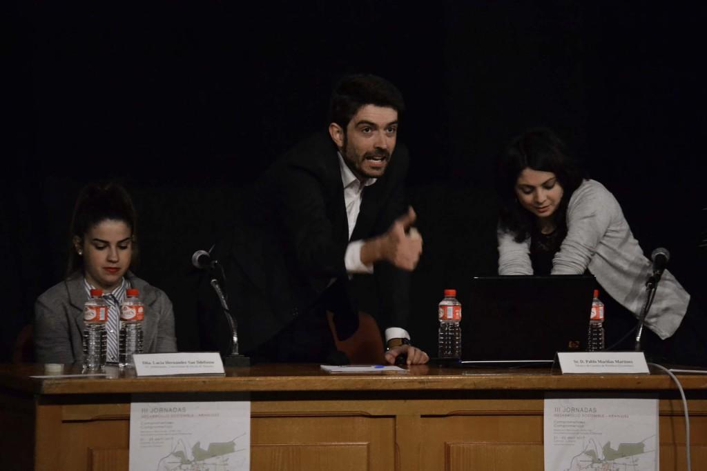 Lucía, Pablo Mariñas y Noelia